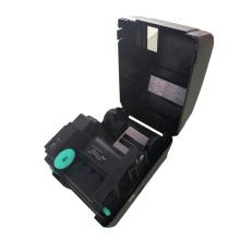 Hot stamping foil em papel preto plástico têxtil impressão hot foil ribbon printer