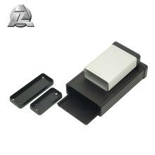black anodized aluminum case