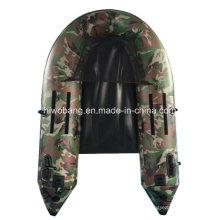 Военный зелёный рыбацкая лодка лодки живота