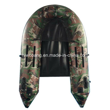 Light Military Green Fishing Boat Belly Boat