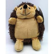 Brinquedo macio de pelúcia sentado Hedgehog