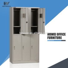 Cheap 6 Door Clothes Wardrobe steel locker