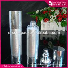 plastic cream lotion airless cosmetic pump bottle