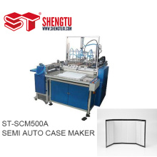 ST-SCM500A Semi Auto Case Maker Machine