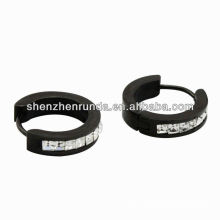 stainless steel earrings CZ jewelry fashion earring vners