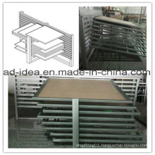 Eight Layers Metal Display Stand/Exhibition Rack