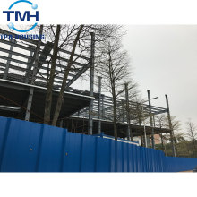 steel warehouse construction with heat insulation materials