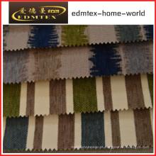 Tecido liso do Chenille para a embalagem do sofá nos rolos (EDM0250)