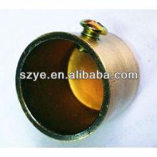 Chrome / dourado chapeamento casa decorar tampas para hastes de cortina, extremidade da haste