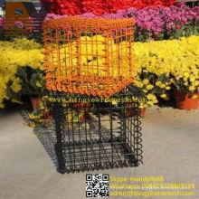 Dekorative Gartenwand geschweißte Gabion Box