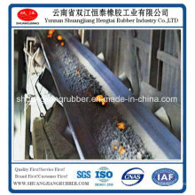 Banda transportadora resistente al calor con alto elongación