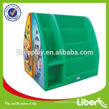 Armoire à jouets multifonction plastique pour enfants type LE-SJ004 Assurance qualité