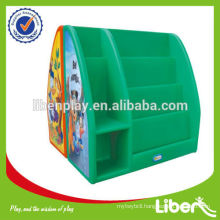 Children plastic multifunctional toy cabinet type LE-SJ004                                                     Quality Assured