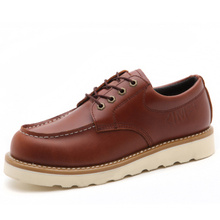 Men's Cow Leather  composite construction safety shoes with steel toe work boots
