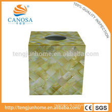 Golden Lip Perlmutt Shell Tissue Box für Wohnkultur