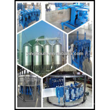 LS40 spiral steel silo machine