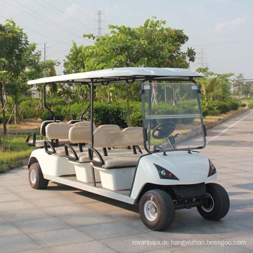 Batterie Power Electric Sightseeing Golf Cart mit 8 Sitzer (DG-C6 + 2)