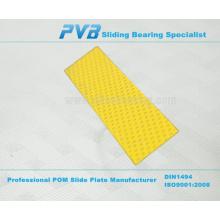 Self Lubrication Oilless Slide Plate,PCMS DX Wear Plate,PVB Brand name POM Slide Plate
