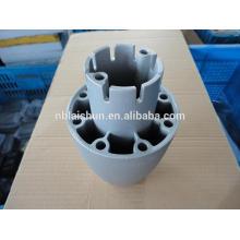 Kundenspezifische klare eloxierte oberflächenfinish aluminium druckguss lichtkomponente