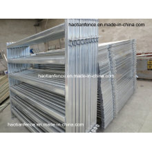 40X80mm Oval Rails Livestock Panels/Cattle Panel