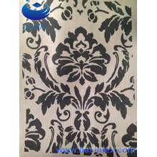 Printing Polyester Linen Sofa Curtain Fabric (BS8124)
