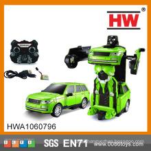 Hot sales 2.4G transform robot toy