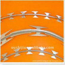 (Oushijia) High Quality Galvanized Razor Barbed Wire