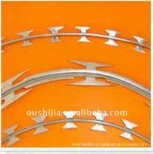 (Oushijia) Высококачественная оцинкованная колючая проволока