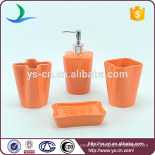 Unique Red Ceramic Innovative Household Products For Bathroom Bath Use