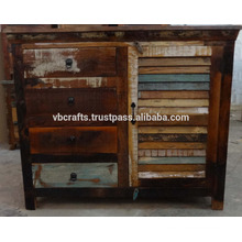 recycled wood cabinet