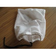 Bolsa de filtro líquido de malla de nylon con cordón