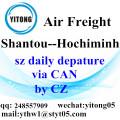 Shantou International Air Freight Forwarding to Hochiminh