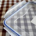 recipiente de chinês microwavable plástico resistente ao calor reutilizável alimento