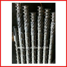 Screw shaft for Plastic extrusion apply to PC, POM, TPE, ABS, PS, PE