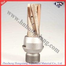 Sintered Diamond Milling Cutter for Glass CNC Machine