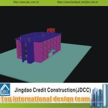 Alta calidad y bajo costo del edificio prefabricado moderno