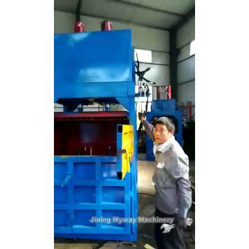 Straw Bale Press Machine/Hay Compress Hydraulic Baler
