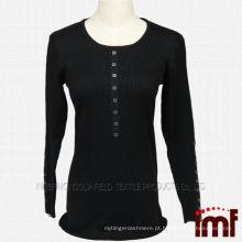 Último design inverno suéter mulheres camisola formal