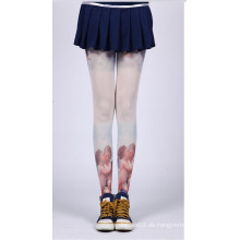 2016 Mode neue Design schwarz und weiß Japan asiatischen Tattoo Strumpf Rohr