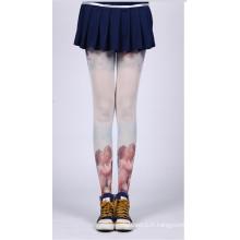 2016 mode nouveau design noir et blanc Japon asiatique tatouage stocking tube