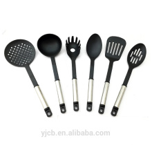 Stainless Steel Handle Nylon Kitchen Utensil Set