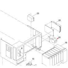 Панасоник СМТ цепи протектор для Sp60p-М машина экрана принтера (KXFP6CTAA00)