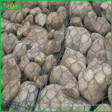 Protégez les cages de gabions des berges des cages gabiniques largement utilisées