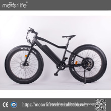 Motorlife /500W 1000W big power fat tire electric bike / Elektrikli Bisiklet / electric beach cruiser bicycle