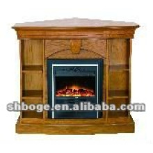 ready-made good quality MDF electric fireplace shelf mantel