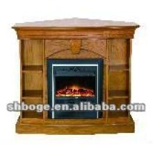ready-made good quality MDF electric fireplace shelf mantel