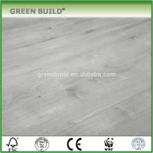 Light grey anti scratch laminate wooden flooring