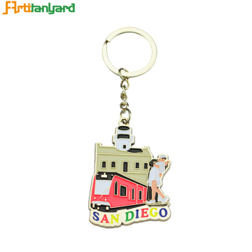 Best Friend Metal Funny Keychains Personalized