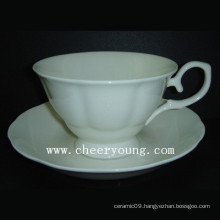 Bone China Cup and Saucer (CY-B544)