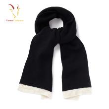 Design personalizado moda inverno 100% cachecol de caxemira para as mulheres